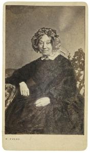 Portret van Sjuckje Cats (1795-1871)