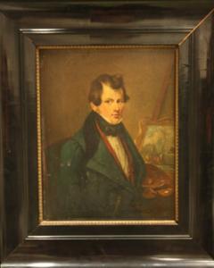 Portret van Pieter Plas (1810-1853)
