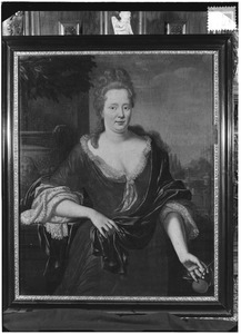 Portret van Josina Clant tot Stedum (1660-1731)