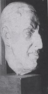 Portret van waarschijnlijk George Friedrich Ferdinand Schiller (1886-1971)
