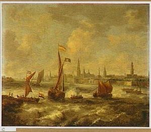 Schepen op de rede van Antwerpen