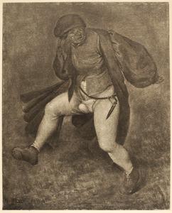 Dansende boer