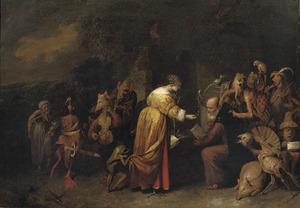 De verzoeking van de H. Antonius