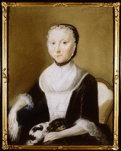 Portret van Maria Jacoba Meinertzhagen (1712-1787)