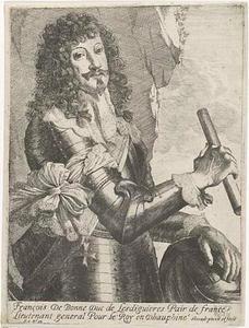 Portret van François de Bonne-Lesdiguières-de Créqui