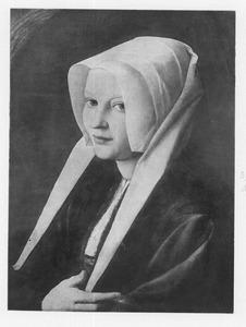 Portret van Agatha van Schoonhoven