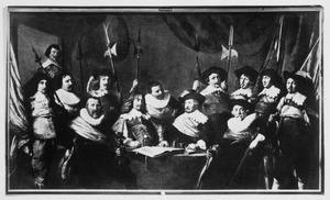 Officieren en onderofficieren van de Kloveniersdoelen, Haarlem