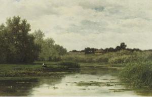 Landschap bij Abcoude