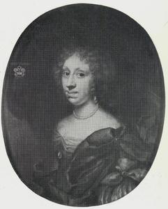 Portret van Berte Skeel (1644-1720), vrouw van Niels Rosenkrantz