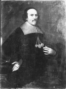 Portret van Christian Neumann (....-1663), Bannerherr van het schildersgilde in Keulen