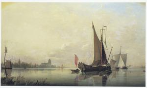 Dordrecht bij ochtend