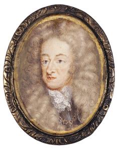 Portret van een man, mogelijk James II Stuart (1633-1701)