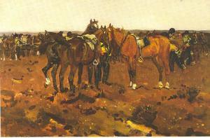 Artillerie paarden