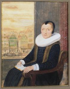 Portret van een vrouw, waarschijnlijk Maria Florianus (....-....)