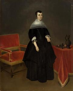 Portret van Hermanna van der Cruysse (1615-1705)