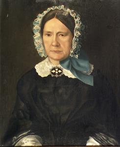Portret van Maria de Leeuw (1804-1885)