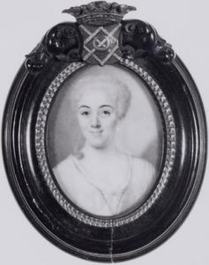 Portret van Maria Grave (1707-1733)