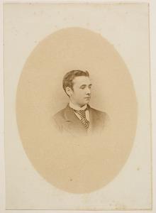 Portret van Jan Anton van der Vliet (1851-1872)