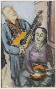 Duet voor gitaar en banjo