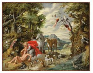 Het verhaal van Adam en Eva: de schepping van Adam