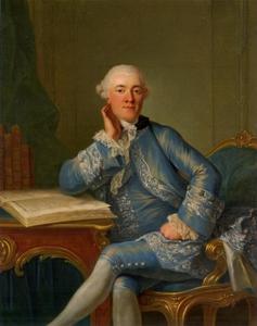 Portret van Sigismund Pieter Alexander von Heiden -Reinestein (1740-1806)