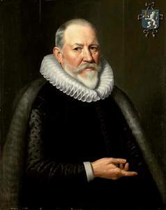 Portret van Maerten Ruychaver (1540-1626)