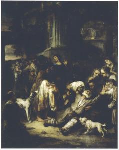 Jacob rouwt bij het zien van de bebloede rok van Jozef (Genesis 37:32-33)