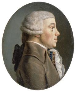Portret van Dirk Willem van Dam (1748-1795)