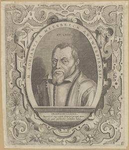 Portret vsn Adrianus Meerbeeck (1563-1627)