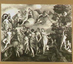 Bijeenkomst van de bewoners van de Parnassus