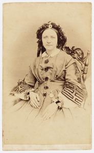 Portret van Trientje Kraus