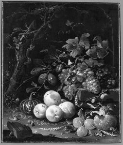 Vruchten bij een ruïne