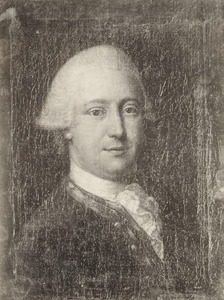 Portret van Lambertus van den Bergh (1735-1779)