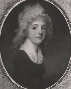 Portret van mogelijk Henriette Anne Maclaine (1768- )