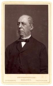 Portret van Cornelus Paulus Hoynck van Papendrecht (1817-1892)