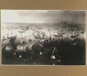 Zevende dag van zeeslag met de Armada, 7 augustus 1588