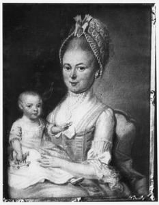 Portret van Maria Bezemer (1749-1801) en Gerard Robert Castendijk (1774-1849)