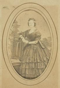 Portret van Ernestine Henriette Antoinette van der Duyn (1835-1871)