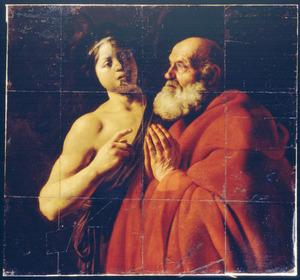 De H. Petrus wordt door de engel bevrijd uit de gevangenis