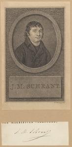 Portret van Johann Matthias Schrant (1783-1866)