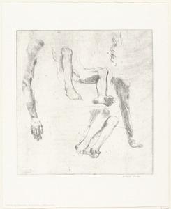Studies van armen, benen en een hoofd