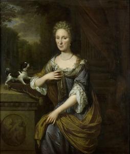 Portret van een vrouw, 1691