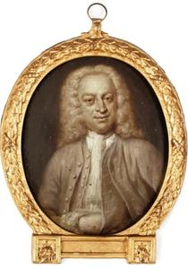 Portrtet van Jan Jacob Mauricius (1692-1768)