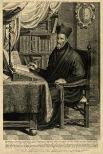 Portret van Leonardus Lessius (1554-1623)