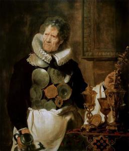 Portret van Abraham Grapheus (?-1624), de knaap van het Sint Lucasgilde