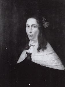 Portret van Helena Verburgh (1625/1630-1683)