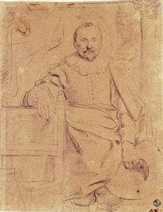 Portret van Rogier Le Witer, echtgenoot van Catharina Behaghel