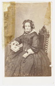 Portret van Agatha Louise van de Poel