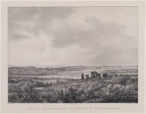 Duinlandschap met de ruïne van kasteel Brederode