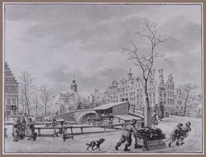 Brouwersgracht op het Papeneilandje te Amsterdam